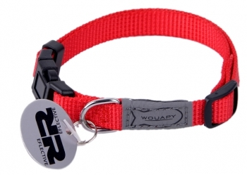COLLAR GATO BASIC LINE ROJO