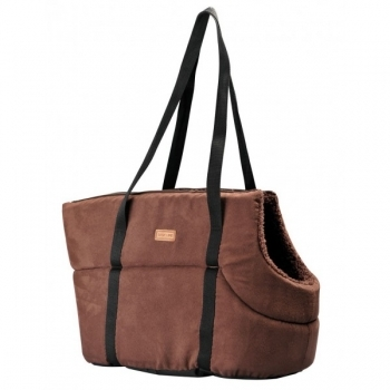 BOLSO SUEDE BASIC MARRON