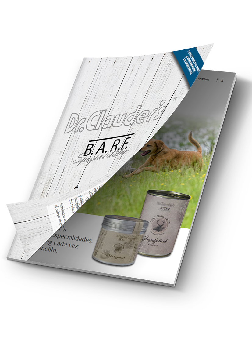 Catalogo BARF Dr.Clauder's