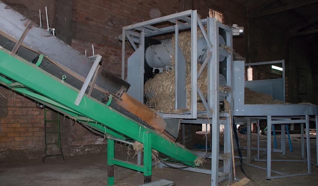 fabrica heno maquinaria