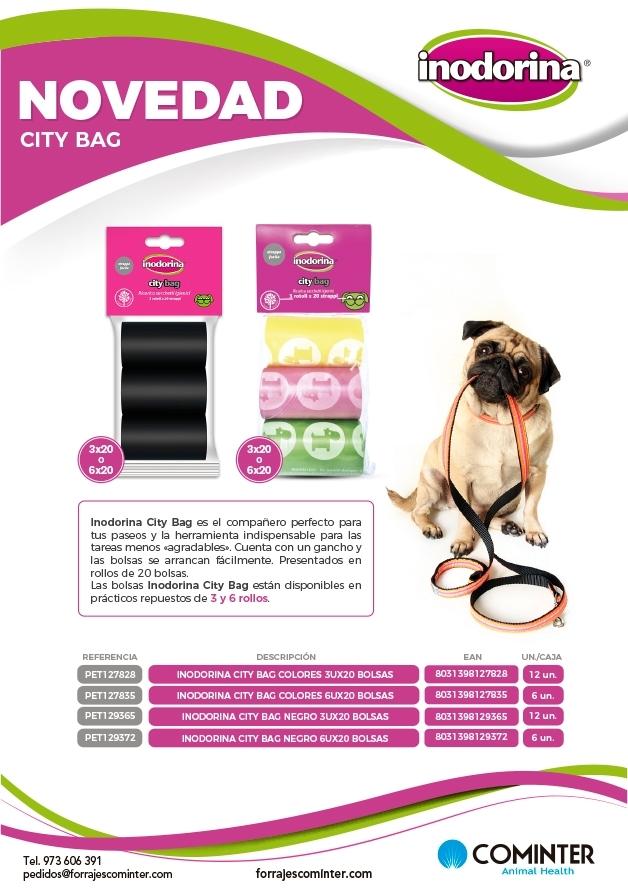 Novedad Inodorina City Bags