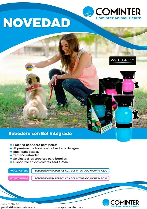 Novedad Bebedero con bol integrado Wouapy