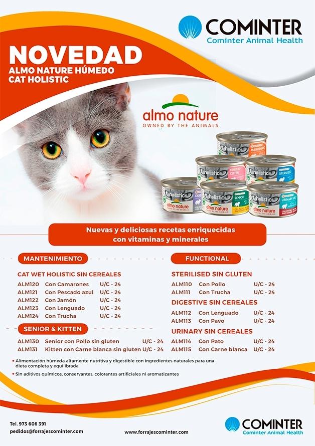 Novedad Almo nature Cat Wet Holístic