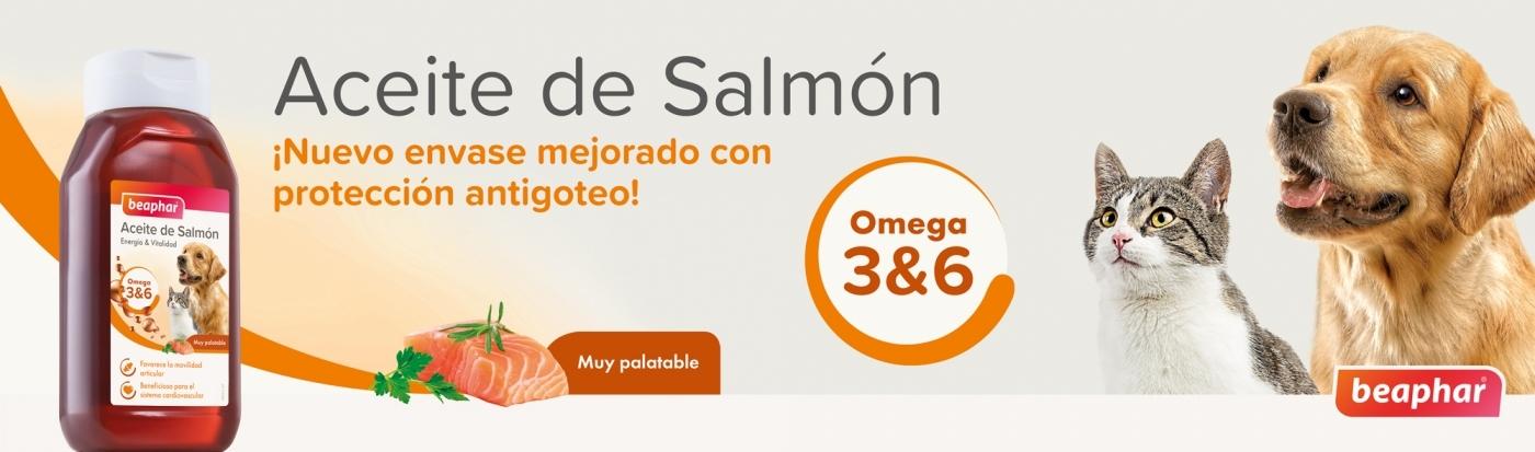Nuevo aceite de salmón beaphar