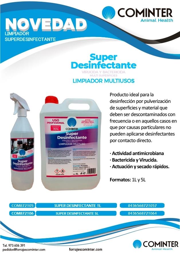 Nuevo superdesinfectante cominter
