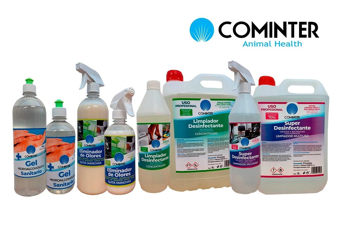 Productos limpieza e Higiene Cominter