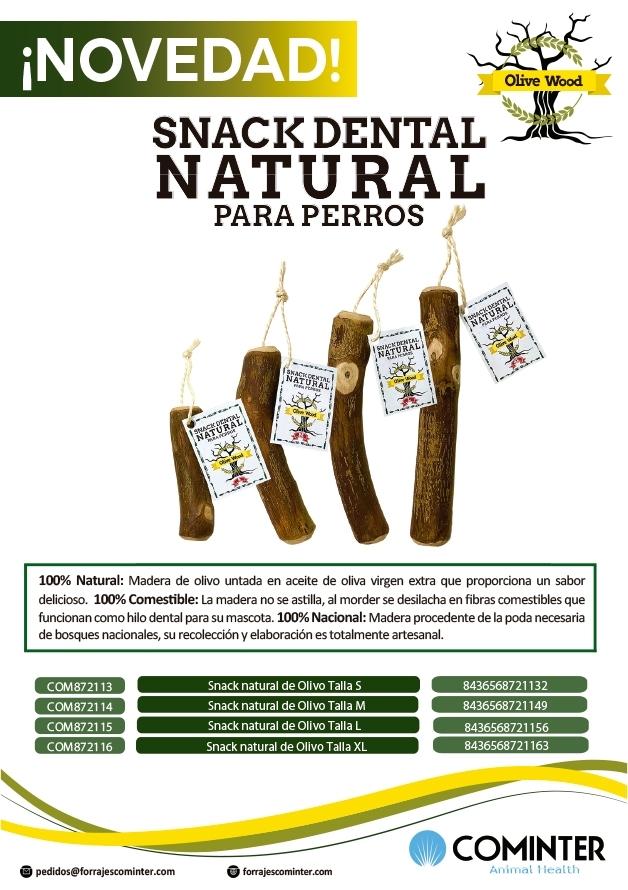 Novedad snacks palos de olivo para perros