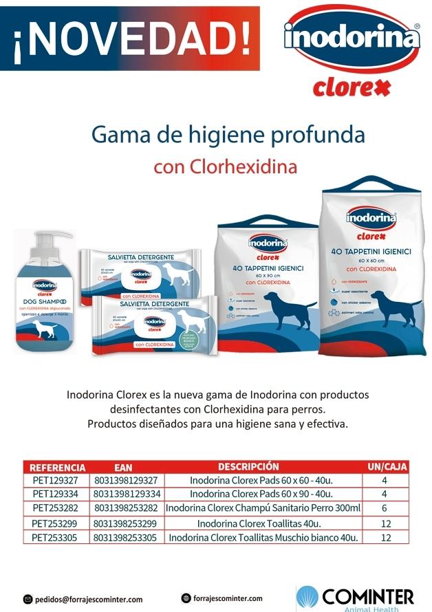 Novedad Inodorina Clorex