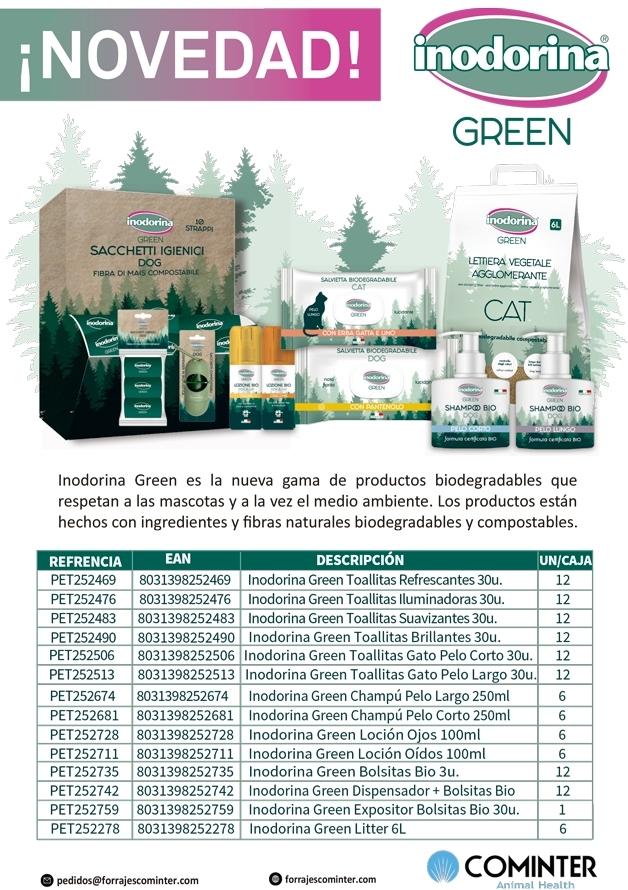Novedad Inodorina Green