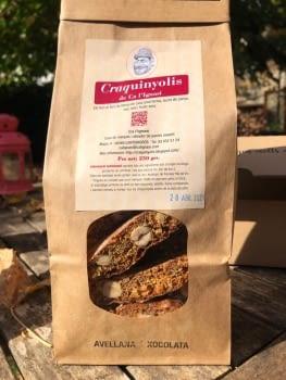 Craquinyolis d'avellana i xocolata - 1