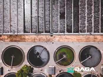 What factors influence the efficiency of water disinfection?