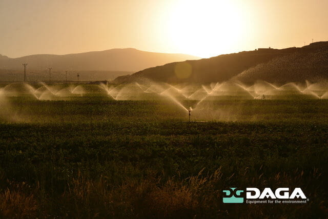The importance of irrigation in water consumption