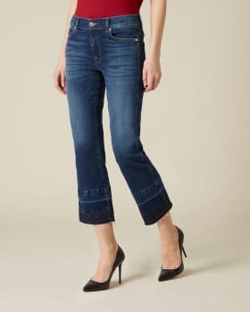 7 FOR ALL MANKIND Vaquero bootcut de talle medio