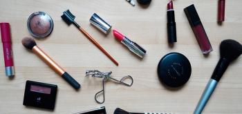 Limpieza de productos de maquillaje