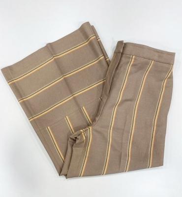 PT TORINO Pantalón ancho rayas color beig - 2