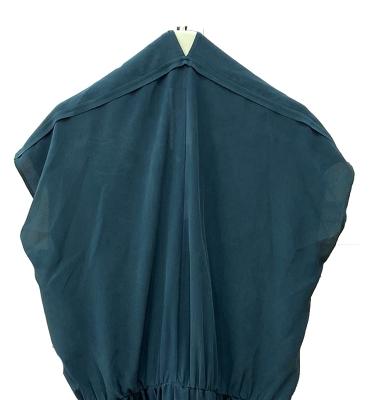 ALYSI Vestido seda en color noche - 2