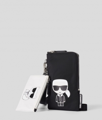 KARL LAGERFELD-DOUBLE POUCH - 2