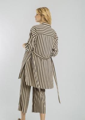 ALBA CONDE Pantalón tobillero rayas - 4