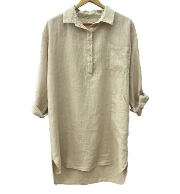 LUCKY & CO Camisa larga manga larga con botones - 1