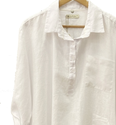 LUCKY & CO Camisa larga manga larga con botones - 2