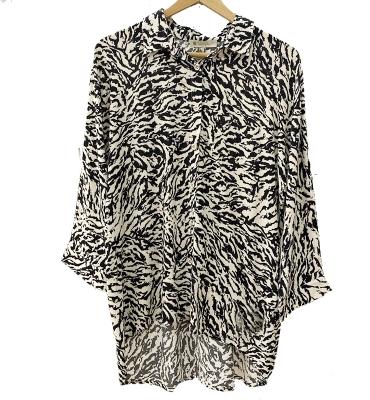 LUCKY & CO Camisa manga larga estampada