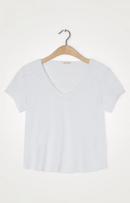 AMERICAN VINTAGE Camiseta de manga corta cuello V - 2