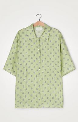 AMERICAN VINTAGE Camisa estampada manga 3/4 - 2