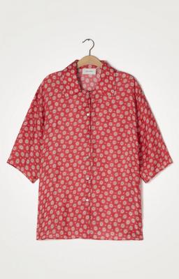 AMERICAN VINTAGE Camisa estampada manga 3/4 - 6