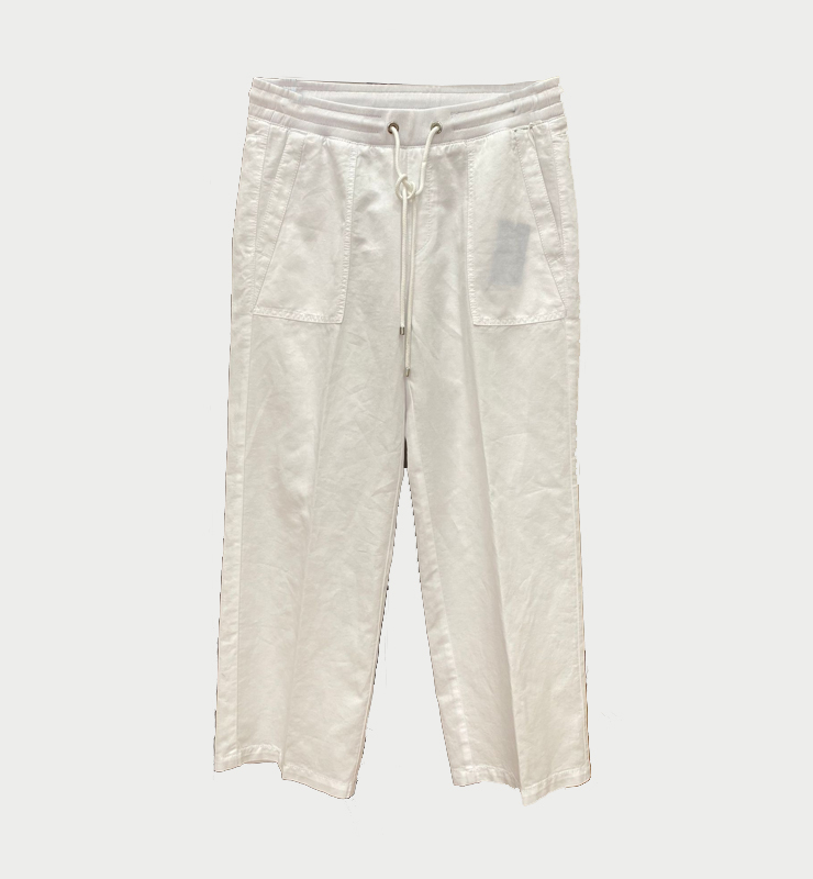 MAC JEANS Pantalones blancos tipo culotte -