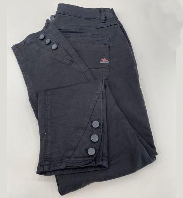 BUENAVISTA Pantalón pitillo con botones - 3