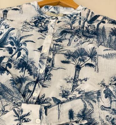 MARGITTES Camisa estampado safari - 1