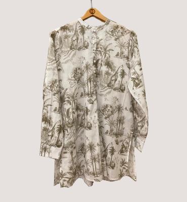 MARGITTES Camisa estampado safari - 3