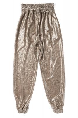 NOLITA Pantalón de lentejuelas color champán - 4