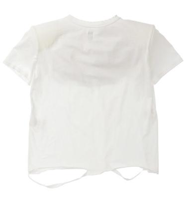 NOLITA Camiseta manga corta blanca con hombreras - 2