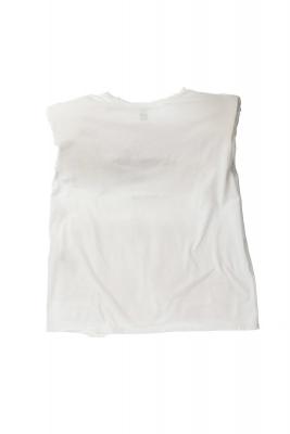 NOLITA Camiseta manga sin mangas con hombreras - 3