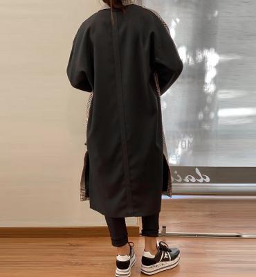 KARL LAGERFELD Abrigo de cuadros espalda contraste - 2