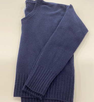 ALYSI Jersey de punto manga larga cuello redondo - 2