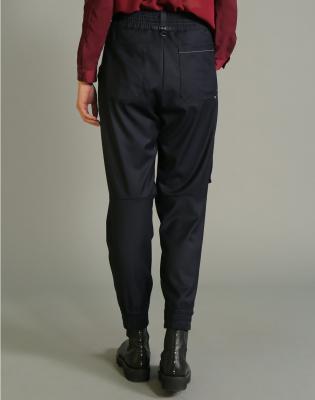 HIGH Pantalón jogger con pespuntes - 4