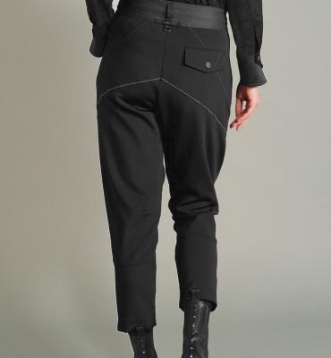 HIGH Pantalón jogger con pernera ancha - 3