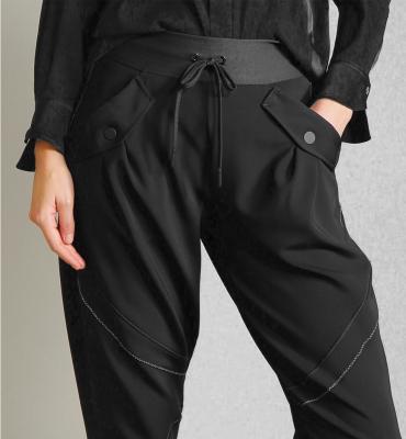 HIGH Pantalón jogger con pernera ancha - 4