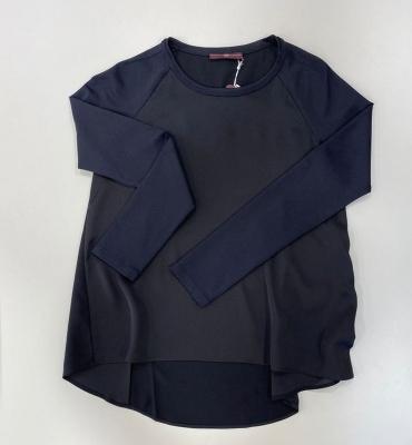 HIGH Jersey punto mangas tejido contraste - 1