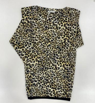 MARGITTES Jersey manga larga estampado leopardo - 2
