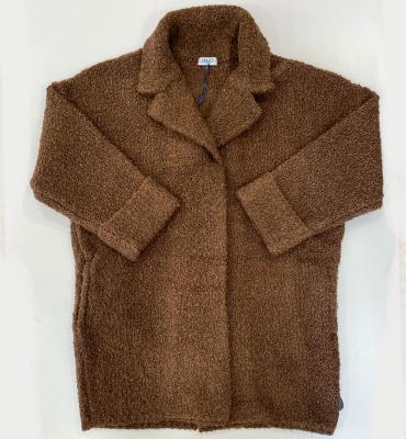 LIU JO Abrigo corto color marrón whisky - 1