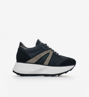 ALEXANDER SMITH Sneakers Chelsea black gold