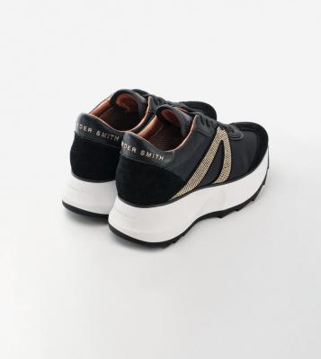 ALEXANDER SMITH Sneakers Chelsea black gold - 4