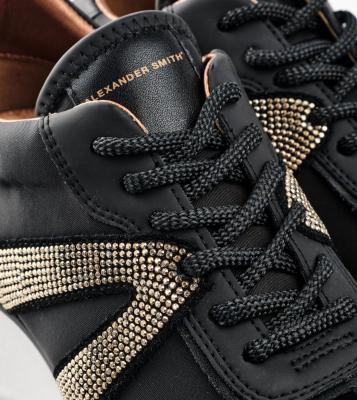 ALEXANDER SMITH Sneakers Chelsea black gold - 5