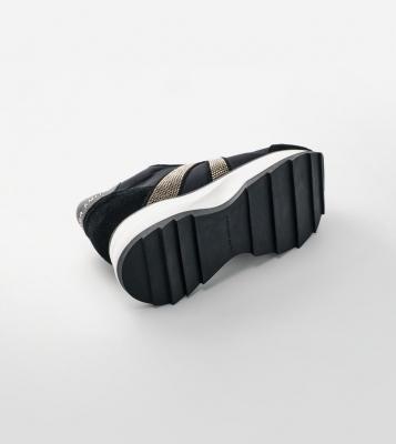 ALEXANDER SMITH Sneakers Chelsea black gold - 6