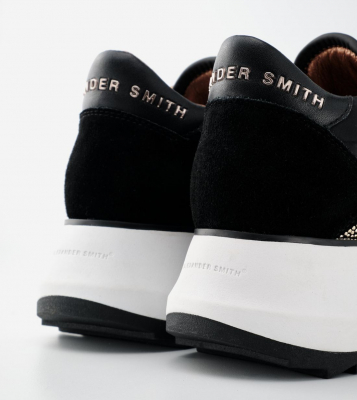 ALEXANDER SMITH Sneakers Chelsea black gold - 7