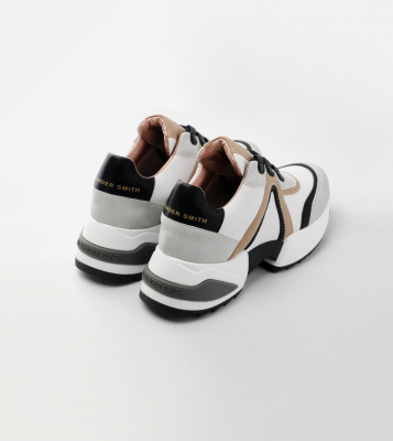 ALEXANDER SMITH Sneakers Marble sand - 4