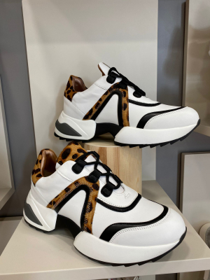 ALEXANDER SMITH Sneakers Marble white mac sand - 2